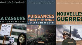 5 derniers livres Etat du Monde